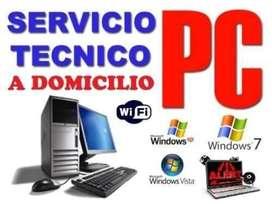 Servicio Tecnico de PC Impresoras Redes