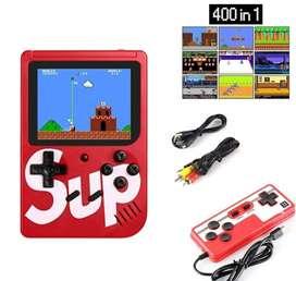 Nintendo Con 400 in 1 Juegos Clásicos Conexión AV TV