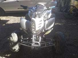 Cuatri pitbull 200cc bien cuidado con todo