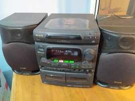 equipo sonido aiwa nsx-520