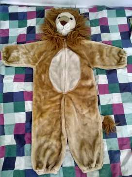 Disfraz de León para niño pequeño talla 2-3