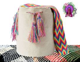 Mochila - Bolso Tejido Wayuu