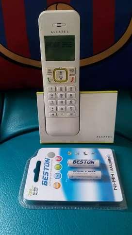 Alcatel con identificador y altavoz