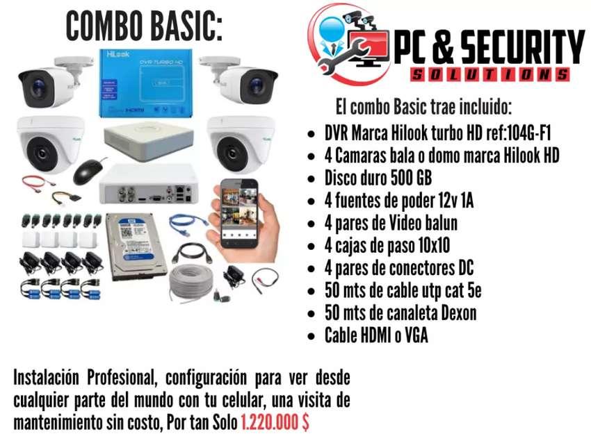 invierte en tu seguridad, Sistema completo de cámaras de seguridad CCTV. 0