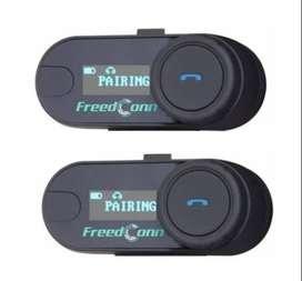Intercomunicador con pantalla -  Bluetooth T-com Sc 800mts Radio Fm Moto