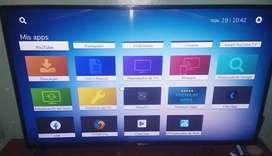 Venta  de Smart Tv marca Global de 43