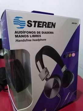 Audífonos de Diadema manos libres nuevos