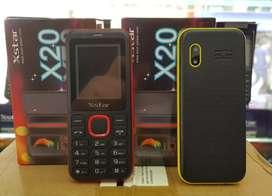 Celular X20 Dualsim Libre Vibra Fm Contador Minutos Linterna