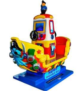 Venta Maquina Infantil KIDDIE BARCO DOBLE PANTALLA / maquinas de recreación