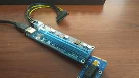 Adaptador tarjeta gráfica a laptop