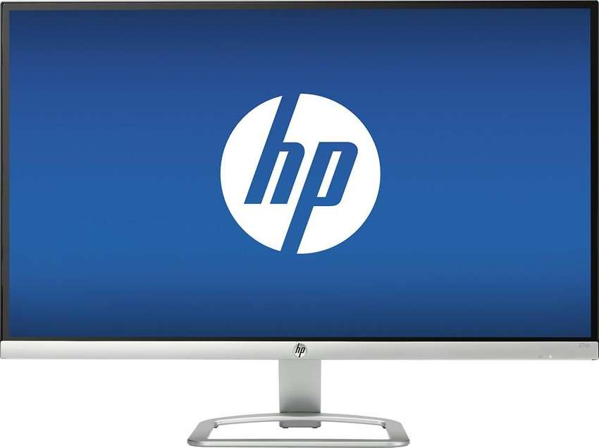 HP 27 IPS LED FHD Monitor Ultra delgado Plata y Negro 0