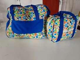 Bolso Maternal, incluye bolso de mano