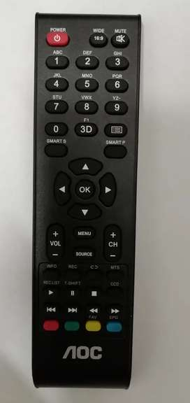Control remoto AOC Smart TV