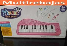 Mini  Para Niños Organo Musical Teclado Piano De 13 Teclas