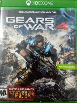 Vendo juego Gears of war 4 xbox one