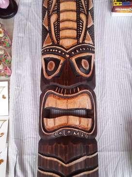 Mascaras en madera