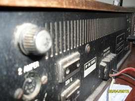 2 AMPLIFICADORES DE AUDIO VINTAGE A TRANSISTORES