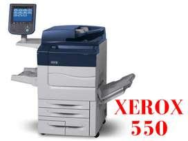 Impresora Xerox Color 550