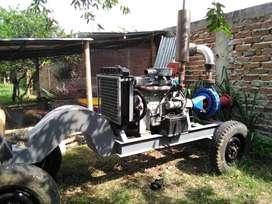 Motobomba centrífuga diesel