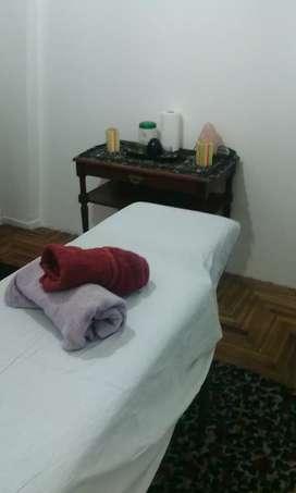 Alquilo gabinete para masajes