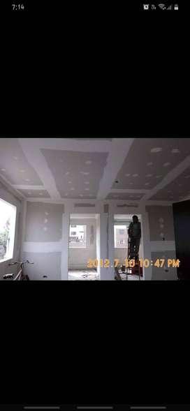 Instalación Drywall y cielo raso