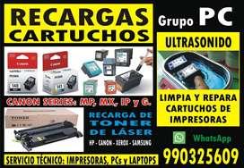 SERVICIO TÉCNICO IMPRESORAS, LAPTOPS Y PCs