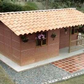 Venta e instalación de casa Prefabricadas