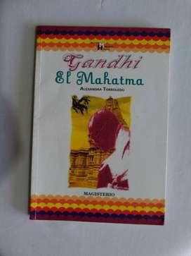 Promoción se vende libro Gandhi el mahatma original en excelente estado