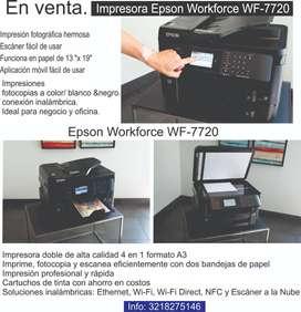 Impresora ideal para negocio y oficina