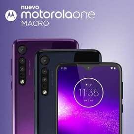 Motorola One Macro 64 GB No Samsung LG Iphone