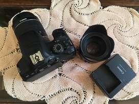 Canon T5i con Dos lentes