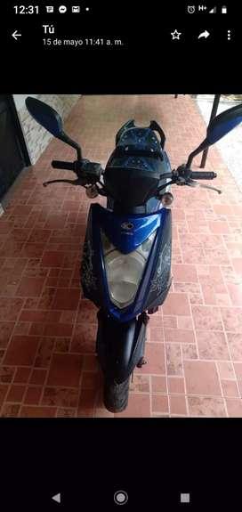Moto agilyti modelo 2013 azul soat hasta febrero del 2021