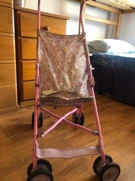 Coche rosado bebe Marca Cosco