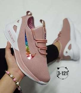 Zapato Tennis Deportivo Nike Zoom Para Mujer