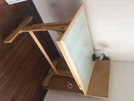 Mesa de arquitectura medida 1 pliego con luz led 70cm*100cm