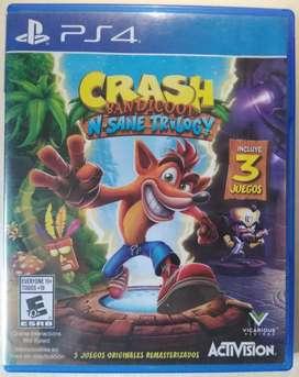 Crash Trilogy ps4 usado