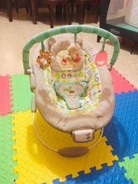 Vendo silla de bebe con sistema de vibracion y musical