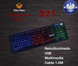 Teclado Gamer Meetion K931021
