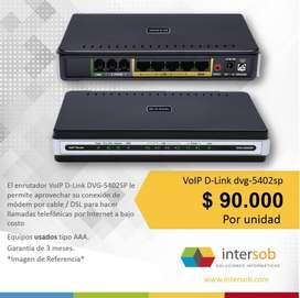 VoIP DLink DVG5402SP