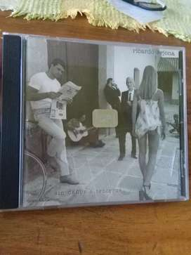 Ricardo Arjona . Sin daños a terceros . CD original Sony music 1998 funciona perfecto