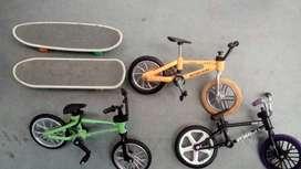 Patinetas Y Bicicletas de Dedos