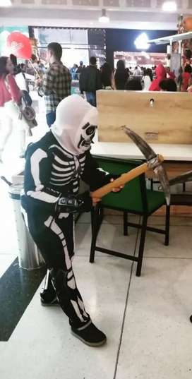 Disfraz esqueleto Talla 14 Niños de 8 a 10 años
