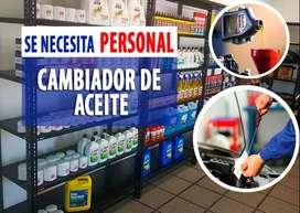 SE NECESITA 2 CAMBIADORES DE ACEITES