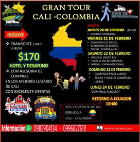 Tour cali Colombia