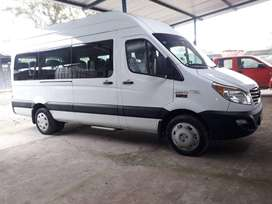 Buseta Furgoneta 17 Pasajeros  Año 2020, JAC HFC6601K1H