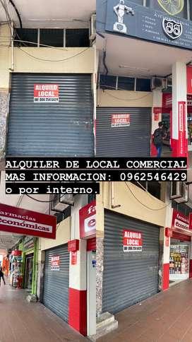 Alquilo local comercial CENTRO de MACHALA