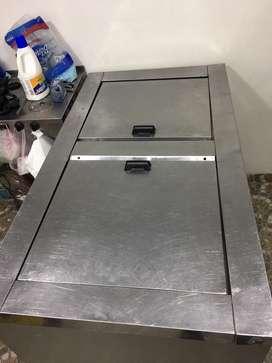 Se vende congelador horizontal en acero inoxidable