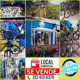 Vendo Tienda de bicicletas