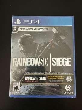 JUEGO PS4 RAINBOW SIX SIEGE