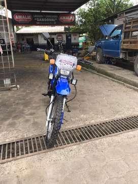Se vende moto modelo Tundra 200 a toda prueba papeles al fia
